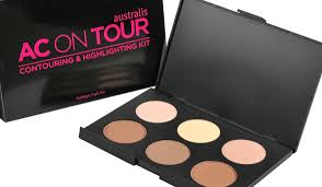 for an all in one solution use a contouring and highlighting kit like the australis ac on tour highlighting and contouring kit