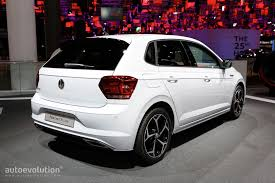 2018 volkswagen r line. modren volkswagen 2018 vw polo beats rline is all sorts of funky in frankfurt inside volkswagen r line