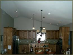 vaulted ceiling kitchen lighting. Modren Vaulted Recessed Lighting Angled Ceiling Vaulted Kitchen  O Ideas  In Vaulted Ceiling Kitchen Lighting