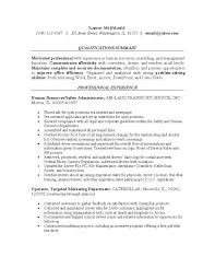 sample entry level human resources generalist resume ...