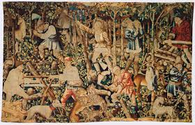 warburg on tapestries bilderfahrzeuge woodcutters arms of nicolas rolin tapestry fragment tournai