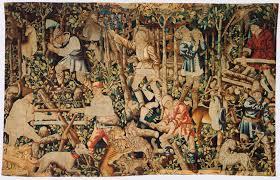 warburg on tapestries bilderfahrzeuge woodcutters arms of nicolas rolin tapestry fragment tournai