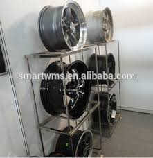 Alloy Wheel Display Stand Hot Sell New Design High Grade Tire Display Stand For Tyre Shop 94