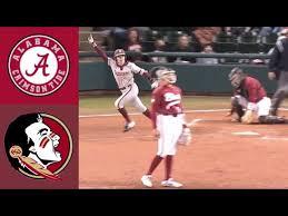 college softball highlights