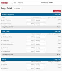 Household Budget Form Free Printable Bill Pay Calendar Templates