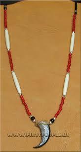 single bear claw necklace handmade by barbara shining star