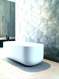 white hexagon tile bathroom wall tiles ideas grey large slate floor