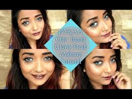 nykaa one brand makeup tutorial everyday fresh glowy best affordable from