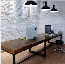 long office table. vintage metal iron american country wood dining table dinner hotel bar long desk specials on aliexpresscom alibaba group office o