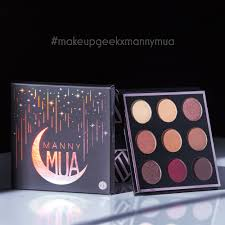this palette has been a hot modity and is curly out of stock here and sign up to be notified of when the makeup geek x mannymua palette is