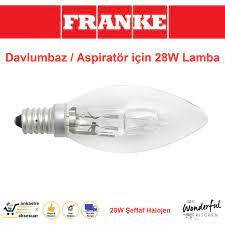 Franke Dominox Davlumbaz Aspiratör için 28W Lamba / Ampul / Işık Fiyatları  ve Özellikleri