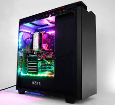 nzxt hue plus matte black rgb led custom pc dubai pc components distributor middle east gaming pc best performance pc computer hardware
