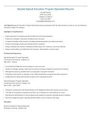 Special education teacher aide sample resume petition for