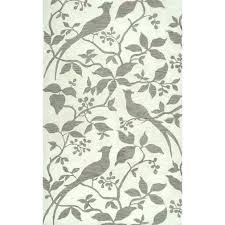 area rugs with leaf design pattern rug from eclipse collection in multi by brown bird