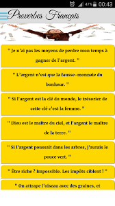 Proverbes Français For Android Apk Download