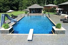 Rectangle Pool In Ground Pool Gallery Aloha Pools Spas Rectangle