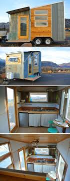 A lightweight, aerodynamic 120 sq.ft. tiny house on a 7.5' x