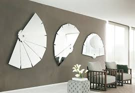 brown wooden framed large wall mirror contemporary wall mirrors wonderful modern decorative