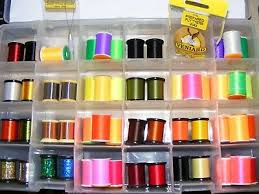 Veniard Glo Brite Floss 100 Yards Fly Tying Materials Game