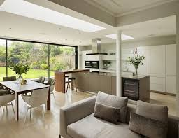 Ideas For Small Open Plan Kitchen Living Room Pretty Beautiful Contemporary Open Plan Kitchen Living Room