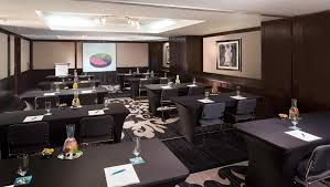 the luxurious and elegant business conference rooms. Business Man Traveling The Luxurious And Elegant Conference Rooms N