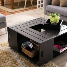 wine crate coffee table original and creative ideas