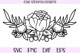 Get yours from +16 possibilities. Peony Flower Bouquet Graphic By Ciaostefaniadigital Creative Fabrica