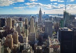 New York City Wallpaper For Bedroom New York Skyline Empire State Building Manhattan Wallpaper Wall