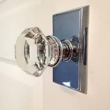 glass closet door knobs