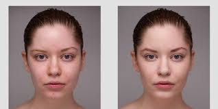 model without makeup before and after kid