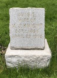 Avis Risley Knight (1866-1905) - Find A Grave Memorial