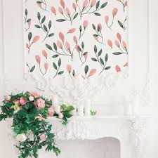Soft Blush Floral Wall Decals \u2013 Project Nursery