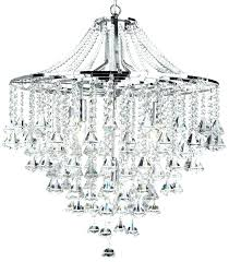 crystal chandelier modern chrome 5 light round halo contemporary lighting