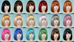 Cecile (The Sims4 Female hair) | KEWAI-DOU
