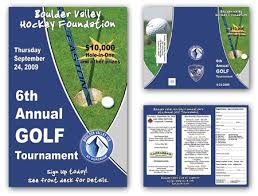 Bvice Golf Tourney Brochure & Poster 2009 | Distanceweb