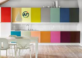 Colorful Kitchen Cabinets Design Your Kitchen With Bright Colors All Tutorials Share It Easy