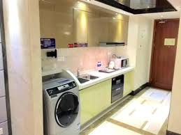 kitchenaid washer and dryer. Washer And Dryer In Kitchen South North International Apartment With Fitted . Kitchenaid