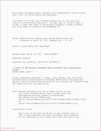 Ascii Resume Samples Army Infantry Resume Sample Army Resume Builder New Military