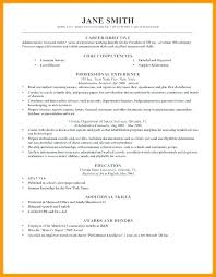 Career Objective For Experienced Resume Career Objective In Resume Oloschurchtp 93