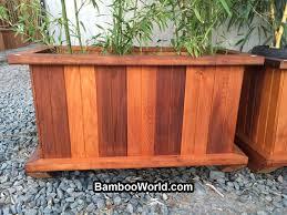 Decorative Planter Boxes Cedar Panter Box 21