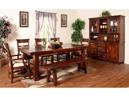 Sunny Designs Vineyard Piece China Cabinet With Glass Hutch - Dining room table and china cabinet