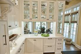 glass cabinet doors for kitchen