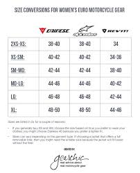 Hit Air Size Chart Manufacturers Womens Gearchic