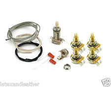 les paul wiring kit les paul® wiring kit long shaft pots for carved tops cts 550k switchcraft