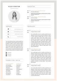 Resume Creative Template 25 Best Creative Cv Template Ideas On