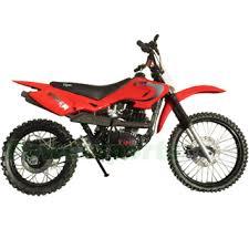 149cc dirt bike with manual clutch transmission and kick start