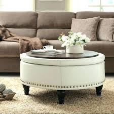 patterned ottoman patterned ottoman coffee table awesome white round fabric ottoman coffee table upholstered coffee intended