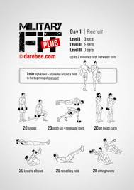 Get Fit For The Army Wall Chart 9 Best Army Workouts Images Army Workout Military Workout