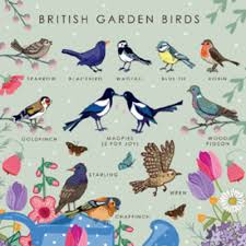 10 British Birds Wildlife Poster British Birds