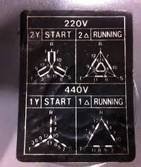 strange 220 440 motor wiring diagram photo this on aprox 5 hp motor of taiwanese radial drill never seen wire arrangement diagram like this can any of you figure it out